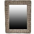 Sweet Living Grote Rotan Spiegel - 85xH105 cm