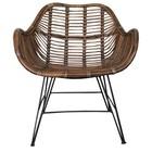 Sweet Living Rieten stoel - 64x72xH87 cm