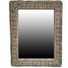 Sweet Living Rotan Spiegel - 65x45x3 cm