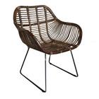 Sweet Living Rieten stoel - 68x56xH88 cm