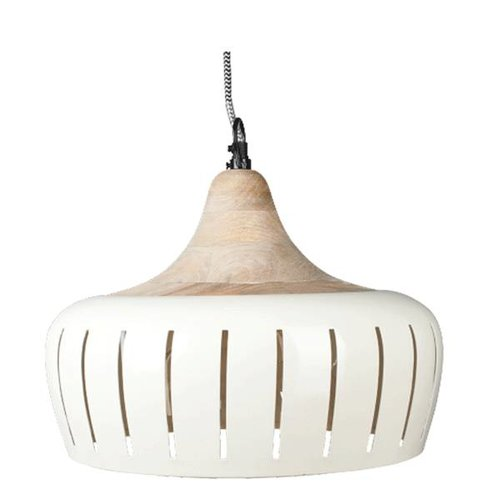 Braxton Hanglamp Jamie Ivoor - 30cm