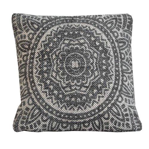 Sweet Living Sierkussen Batik Charcoal - 40xH40 cm