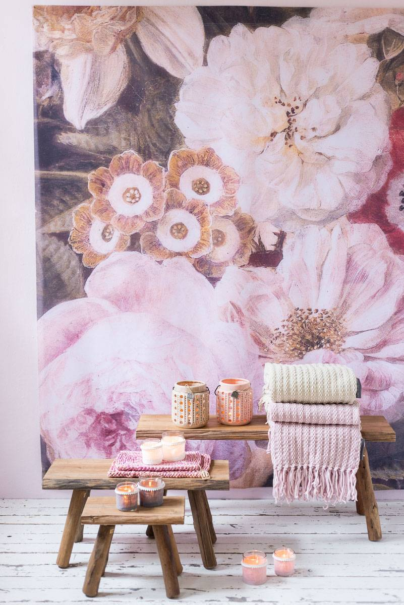 Een vleugje roze in huis