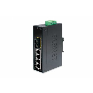 Planet 4 Port + SC Industrial Fast Ethernet Switch