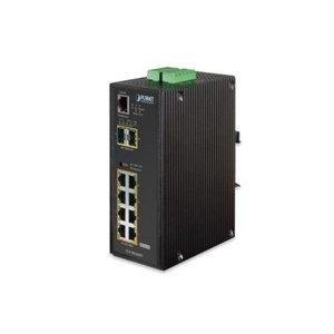 Planet 8 Port Gigabit PoE+, 2 Port SFP Managed Switch