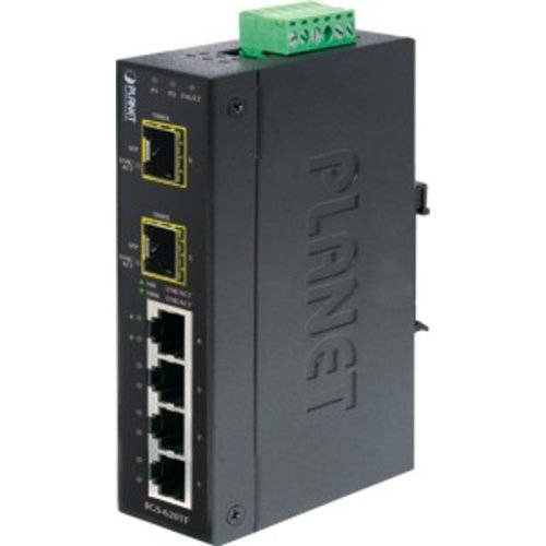 Planet 4 Port 10/100/1000T + 2 Port 100/1000X SFP Ethernet Switch