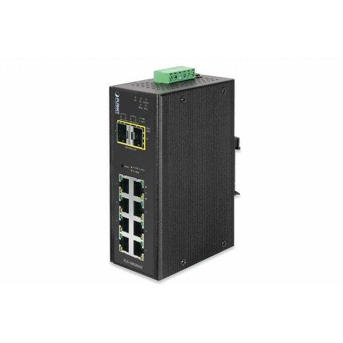 Planet 8 Port 10/100/1000T + 2 Port 100/1000X SFP Managed
