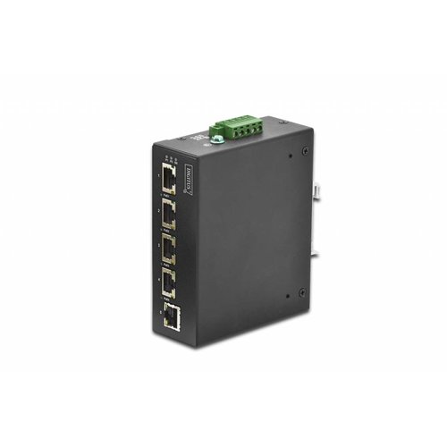 4 Port Gigabit PoE Switch with 1 Port Gigabit Uplink