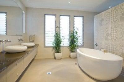 Badkamervloer met vloerverwaming verven een praktijkvoorbeeld - Badkamer vloer ...