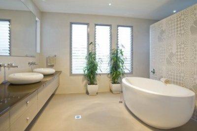 Beautiful Betonlook Verf Badkamer Pictures - House Design Ideas 2018 ...