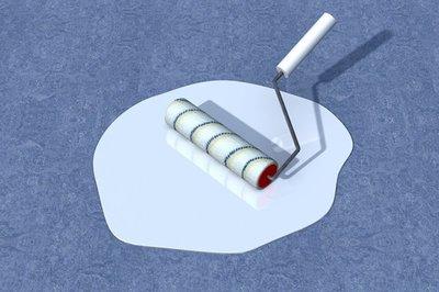 Marmoleum Vloer Verven : Linoleum vloer verven met vloerverf onze tips