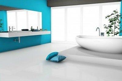 Hoe de badkamervloer te verven vloerverf en vloercoating specialist - Badkamer vloer ...