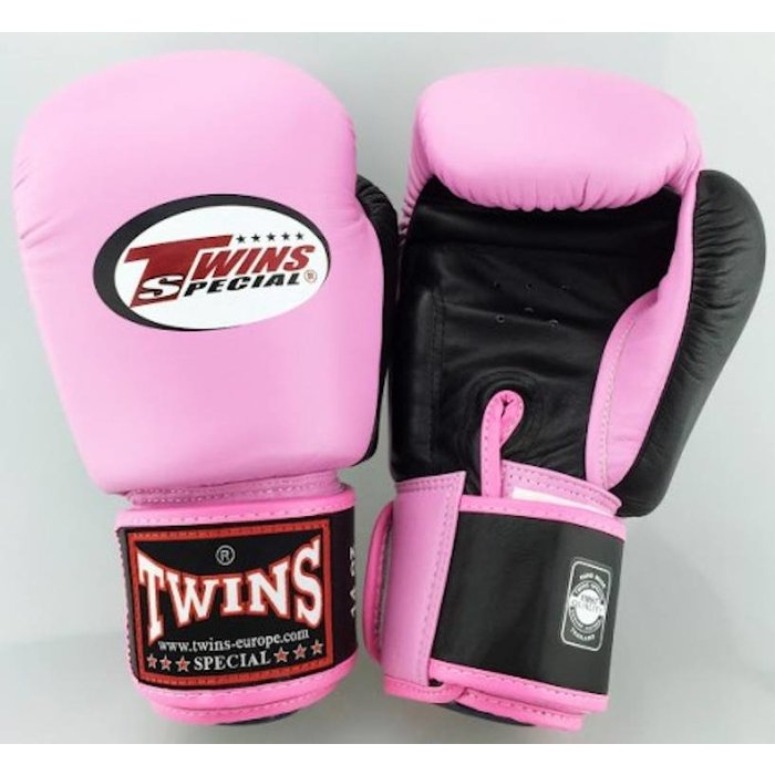 Twins BGVL 3 Boxing Gloves Pink Black by Twins