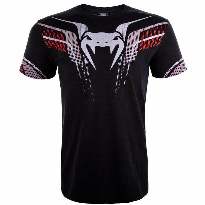 Venum Kleding T Shirt Elite 2.0 Black Vechtsport Kleding