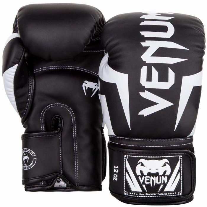 Venum Kickboks Bokshandschoenen Elite Zwart Wit