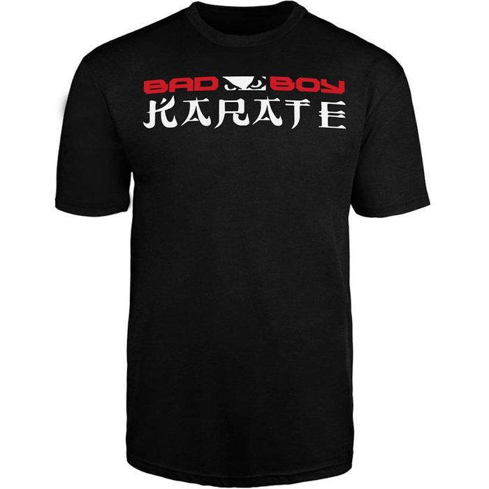 Bad Boy KARATE DISCIPLINE T Shirt Zwart KARATE Kleding