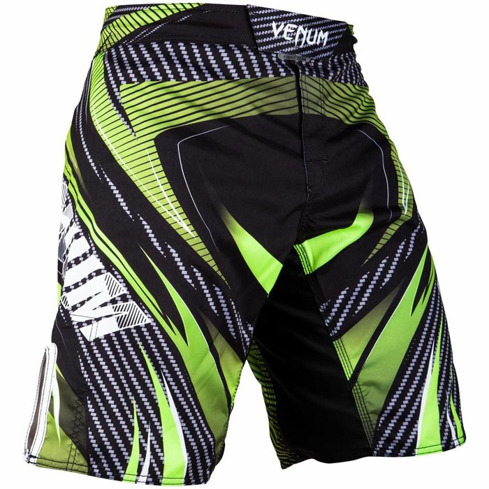 Venum Galactic 2.0 Carbon Fightshorts Black Neo Green Venum Clothing