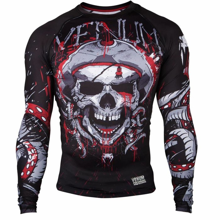 Venum Clothing Pirate 3.0 Rash Guard L/S Venum Shop Europe