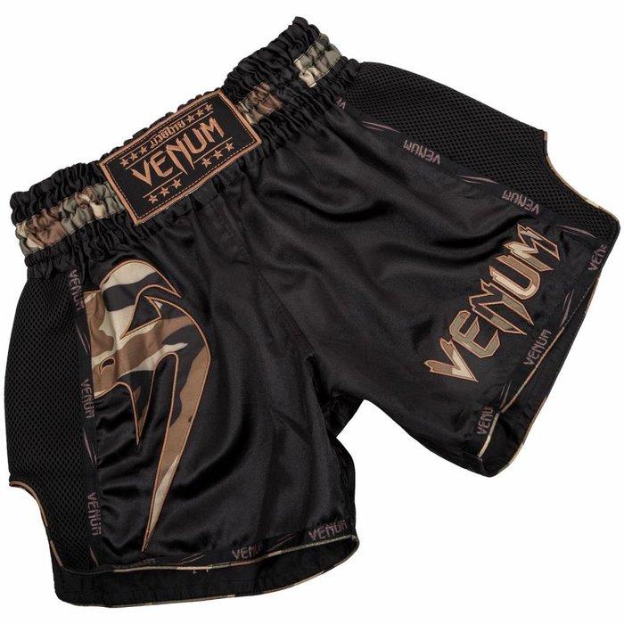 Venum Giant Muay Thai Shorts Camo Forest Venum Clothing