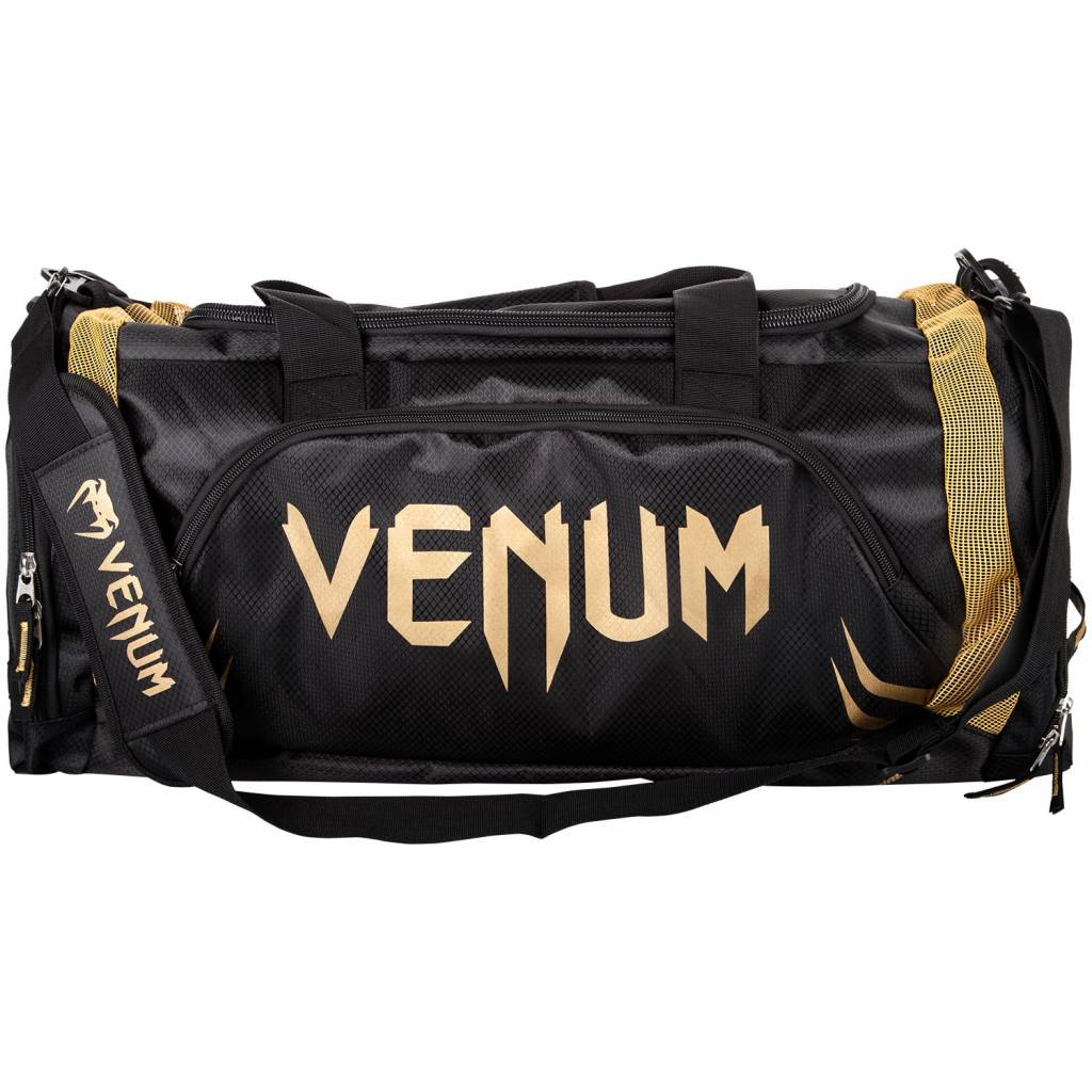 618d4d3b7124 Venum Gym Bag Trainer Lite Sports Bag Black Gold - FIGHTWEAR SHOP EUROPE