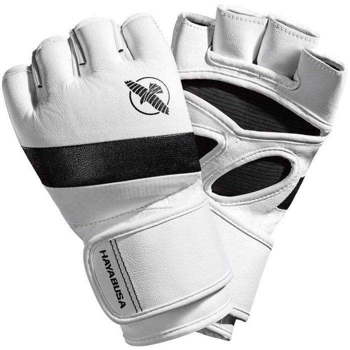 Hayabusa T3 4OZ MMA Gloves White Black MMA Shop Europe