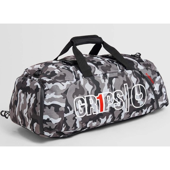 Grips Athletics Duffel Back Pack 2.0 Night Camo Gym Bag
