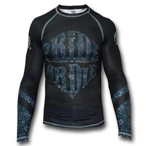 vechtsport kleding fightwear shop europepride or die pod rash guard l s prideordie reckless paisley