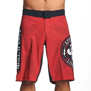 Affliction Clothing Affliction Performance Training Fightshorts Red