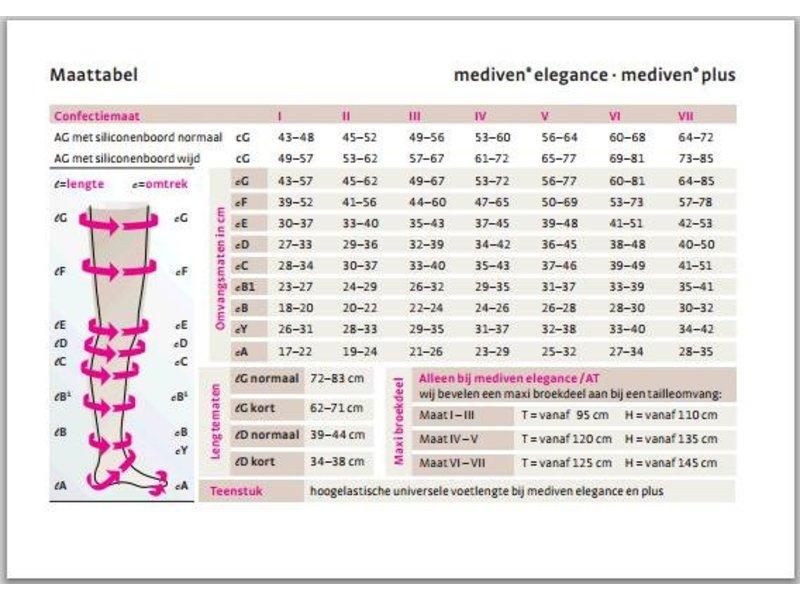 Mediven Plus AG/H Lieskous Heupbevestiging