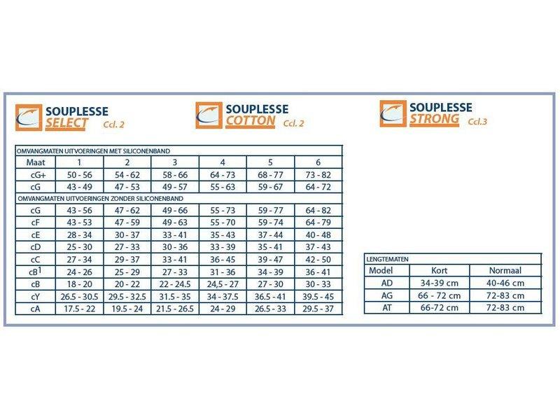 Varodem Souplesse Select AG Femur Stocking
