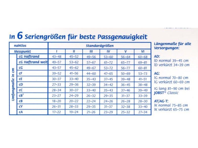 Jobst Classic AG Schenkelstrumpf