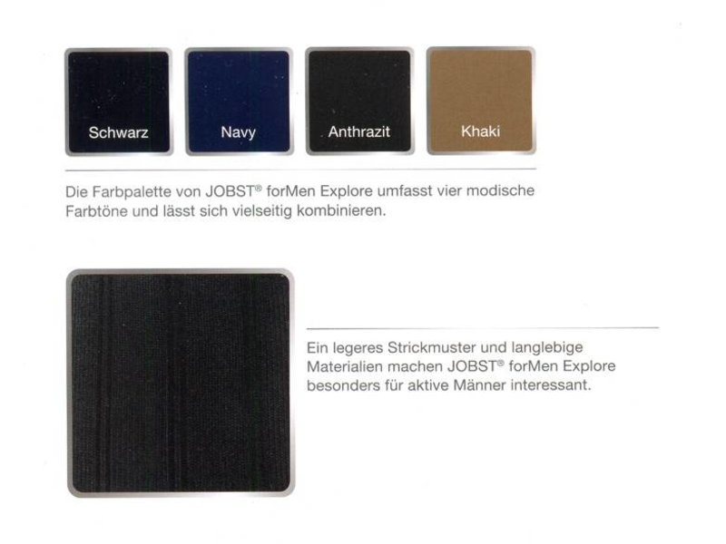 Jobst For Men Ambition AD Bas de Genou