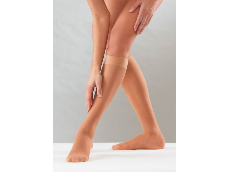 Sanyleg Preventive Sheer AD Knee-high 15-21 mmHg