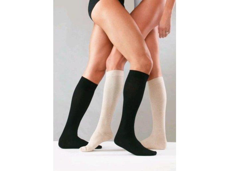 Sanyleg Preventive CottonAD Knee Stockings 15-21mmHg