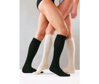 Sanyleg Preventive Cotton AD Knee Stockings 25-27mmHg