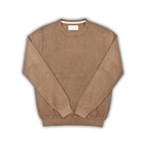 Vintage Wash Pullover - Brown