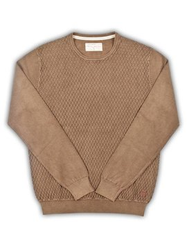 Baileys Vintage Wash Trui - Brown