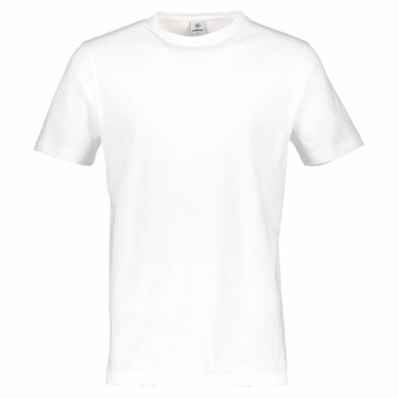 Lerros Lerros Doppelpack T-shirt Rundhals - White
