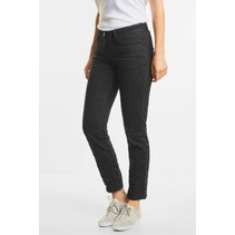 Black Crinkledenim Scarlett - Black Denim