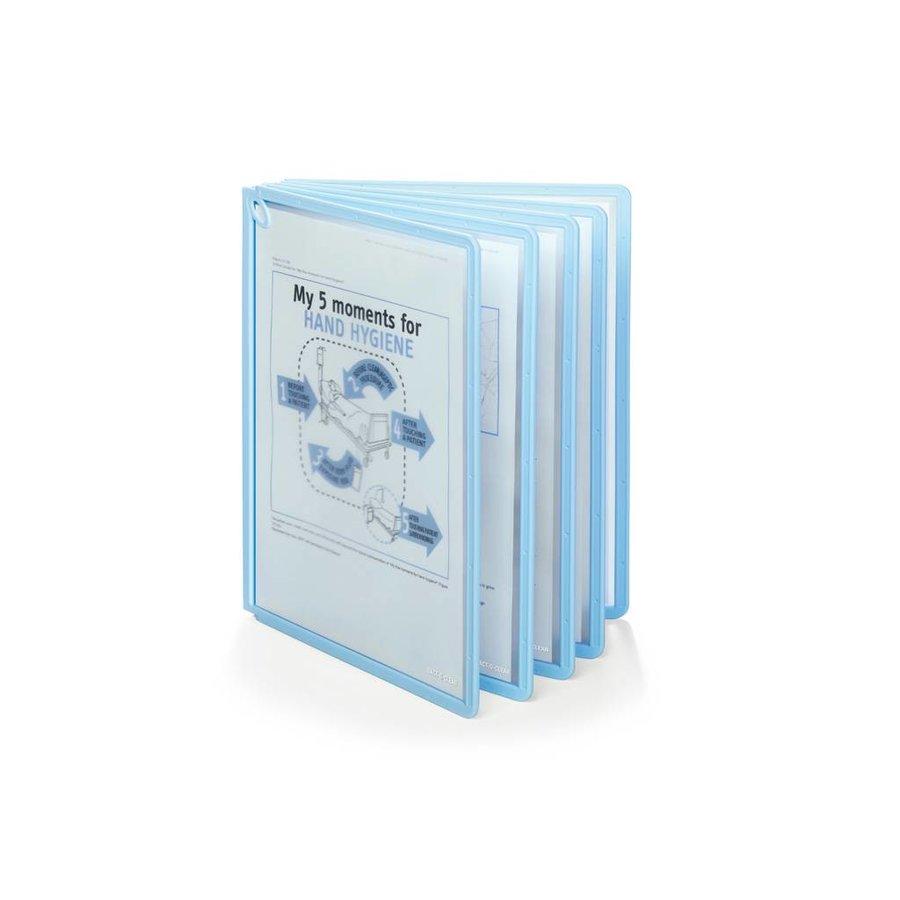 Zichtpanelensysteem Sherpa Bact-O-Clean lichtblauw Table 1 set