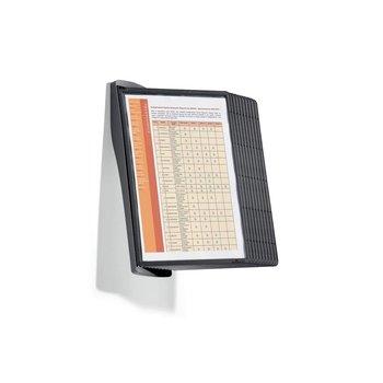 Zichtpanelensysteem Sherpa Bact-O-Clean zwart Wall 2 sets