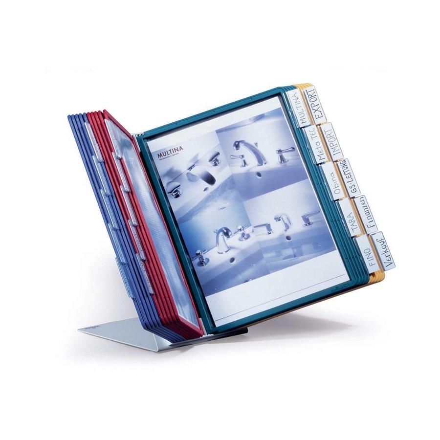 Bureaustandaard Vario A4 tafelmodule div.kleuren 20