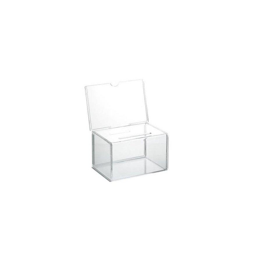 Visitekaartbox 143x98x90mm