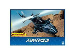 Aoshima Maquette Aoshima: Airwolf 1/48 Modèle de collection