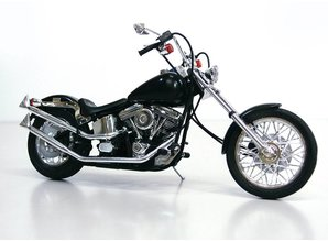 Aoshima V-Twin Custom Ghost Rider 1/12 Bike