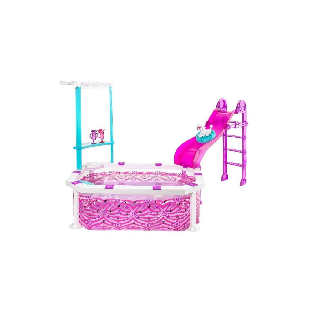 Piscine barbie for Barbie chien piscine