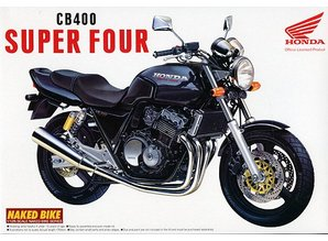 Aoshima Naked Bike: Honda Super Four CB400