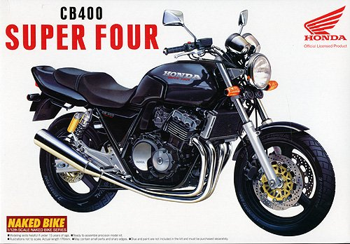 aoshima naked bike honda super four cb400. Black Bedroom Furniture Sets. Home Design Ideas