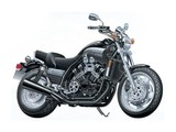 Aoshima Naked Bike: Yamaha V-max Export version