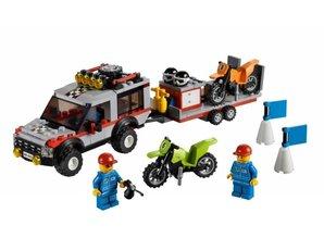 Lego City 4433 - Le Transporteur de Motos Tout-Terrain (boîte endommagée)